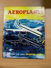 "1960 ""AEROPLANES"" FOLLOW THE DOTS ILLUSTRATED CHILDRENS HARDBACK BOOK"