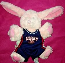 Bear Factory Pink  Rabbit Bunny SOFT TOY Basketball Clothes