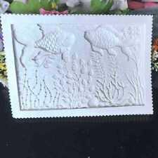 Fish Coral Grass Silicone Fondant Mould Cake Decorating Paste Sugar Border Mold