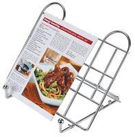 KitchenCraft Adjustable Folding Cookbook Stand  Tablet Holder
