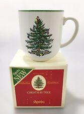 Spode Christmas Tree Cafe Mug 14 oz NEW in Box Coffee Tea Cocoa