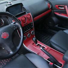 Interior Center Console Carbon Fiber Molding Sticker Decal For Mazda 6 2006-2015