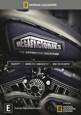 National Geographic: Megafactories - The Motorcycle Collection NEW R4 DVD