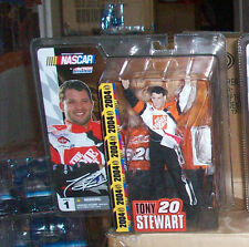 MCFARLANE ACTION NASCAR 1 TONY STEWART #20 THE HOME DEPOT FIGURE NEXTEL CUP