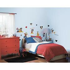 DISNEY MICKEY MOUSE & FRIENDS wall stickers scrapbook 30 BIG decals CLUBHOUSE
