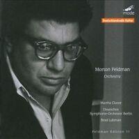 Feldman: Orchestra, New Music