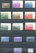 1948 Centenario del Risorgimento - 13 valori NUOVI MNH Repubblica S136