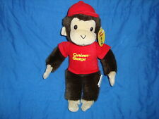 "Curious George Monkey 11"" Plush Best Made Toys Ltd."