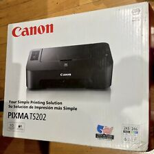 Canon Pixma TS202 Inkjet Printer,Used,excellent Condition!