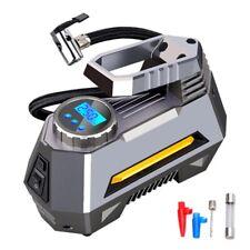 Portable Air Compressor Tire Inflator - Car Tire Pump With Digital Pressure Gaug