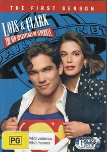 LOIS & CLARK: THE NEW ADVENTURES SUPERMAN S1. All 22 eps (inc Pilot) on 6 DVDs