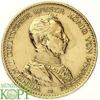Z902) J.253 PREUSSEN 20 Mark 1913 A Wilhelm II 1888-1918 Gold