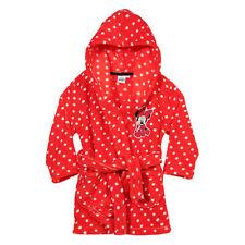 DISNEY robe de chambre peignoir polaire MINNIE rouge taille 4 ans NEUVE