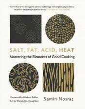 NEW Salt, Fat, Acid, Heat By Samin Nosrat Hardcover Free Shipping