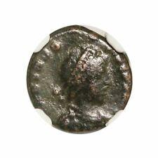 Roman AE of Theodosius II (AD402-450) NGC (F)