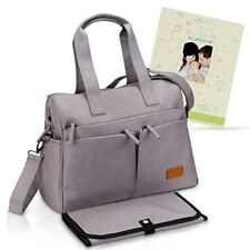 Designer Diaper Bag - Large, Spacious Baby Purse With Internal And External For