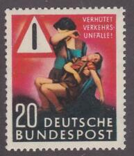 """Germany 1953  #694 """"Prevent Taffic Accidents"""" - MNH"""