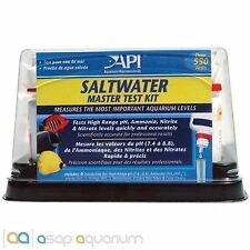 API Saltwater Master Test Kit Nitrate pH Nitrite Ammonia Marine Aquarium Test