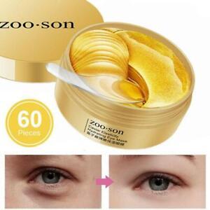 60 pcs Dark Circle Gel Collagen Under Eye Patches Pad Mask Anti-Wrinkle