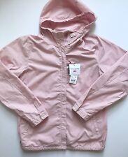 Uniqlo x Ines de la Fressange IDLF Cotton Poplin Parka Pink Gingham Large NWT