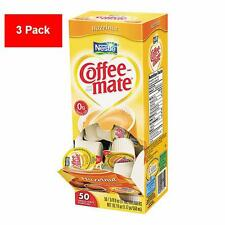 3 Pack Nestlé Coffee-mate Hazelnut Liquid Creamer Singles 150ct - FREE SHIPPING