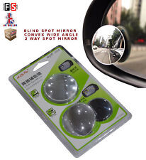 UNIVERSAL BLIND SPORT MIRROR 150R CONVEX WIDE VIEW ANGLE 360 75 mm DIA-MRC1