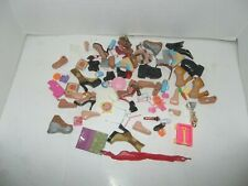 lot of bratz feet shoes accessories some barbie mismatched replacement