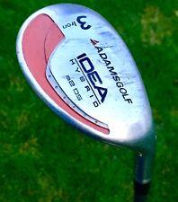 Adams A2-OS 3 Hybrid Golf Club Red A 2  Regular K4 Graphite R Flex Jumbo Grip