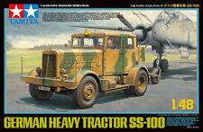 1/48 Tamiya 32593 - German Heavy Tractor SS-100 Plastic Model Kit