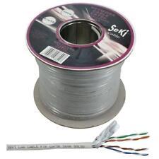 Netzwerkkabel Cat.5e 100m ; S/FTP PIMF ; Cat5 LAN Ethernet Kabel Verlegekabel