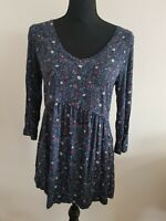 Womens top Size 10 Navy Fat Face <EE6047