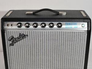 Fender '68 Custom Princeton Reverb Amplifier USA Valve Amp Tube Combo immaculate