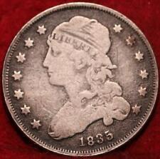 1835 Philadelphia Mint Silver Capped Bust Quarter