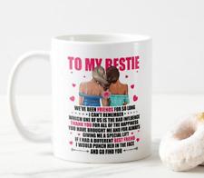 BFF, Best Friends, Thank You Message, Mug Gift, Size 11oz