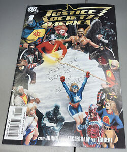 Justice Society of America #1 DC 2007 Alex Ross JSA 1st App Appearance Cyclone