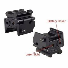 Micro Dot Laser Sight Chase Scope Shockproof Light Picatinny Rail Mount Pistol