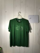 THE NORTH FACE FLASH DRY MENS GRAPHIC TEE GREEN SHORT SLEEVE #322