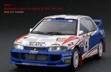 HPI #8553 Mitsubishi Lancer Evo III (#4) 1996 New Zealand Rally 1/43 model