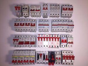 Hager Legrand MK MEM SquareD AC22A AC22B 63A 100A Main Trip Switch Disconnectors