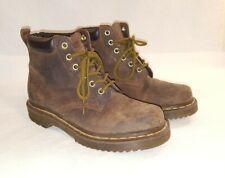 Doc Dr MARTENS Womens Combat Ankle Boots Size US 7 UK 5 Brown Gum Sole