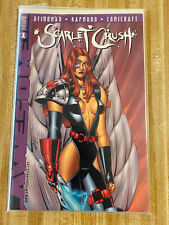 Scarlet Crush #1 by John Stinsman (1998, Awesome)