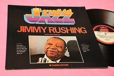 J. RUSHING LP ITALY 1980 JAZZ MINT MAI SUONATO FOC + LIBRETTO BIO DISCOGRAFICO