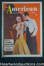 American Jun 1934 Wallace Beery, Stock Market, Fred Waring