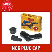 NGK Motorcycle Resistor Plug Cap / Cover - SB05F - Black (8080) - Single