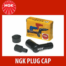 NGK Motorcycle Resistor Plug Cap / Cover - LB05EMH - Black (8338) - Single