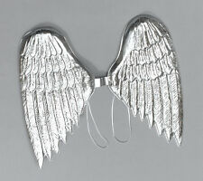 Silberne Engelsflügel NEU - Zubehör Accessoire Karneval Fasching