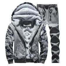 2pcs Mens Tracksuit Jogging Top Bottom Sport Sweater Suit Hoodie Pants Trousers