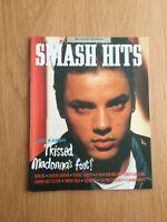 Smash Hits Magazine Nov 86, Janet, Blondie, Madonna, Bowie, Duran , VGC