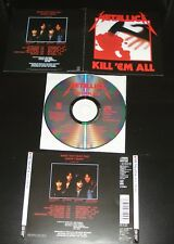 METALLICA - KILL 'EM ALL + 2 BONUS TRACKS + POSTER [CLIFF BURTON]