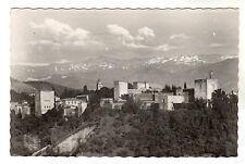 The Alhambra - Granada Photo Postcard c1950s / Spain